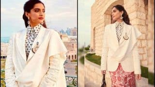 Sonam Kapoor Ahuja's Elegant Pictures From Qatar Turn Fashion Police Speechless