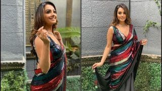 Anita Hassanandani's Sexy Saree Game This Thursday Will Instantly Make You go Weak in Knees!