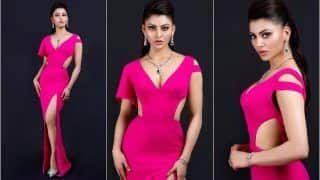 Urvashi Rautela's Breathtaking Look at Smule Mirchi Music Awards 2020 Sets Fans Hearts Aflutter