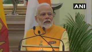 PM Modi, His Sri Lankan Counterpart Rajapaksa Hold Delegation Level Talks; Discuss Trade And Terrorism