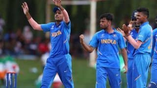 Icc u19 world cup 2020 the biggest factor for defeat was the toss because the wicket was a bit damp indian skipper priyam garg 3937700