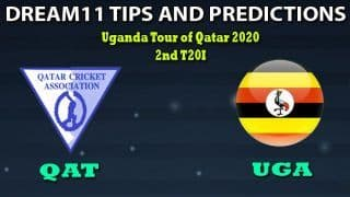 QAT vs UGA Dream11 Team Prediction 2nd T20I, Uganda Tour of Qatar, 2020