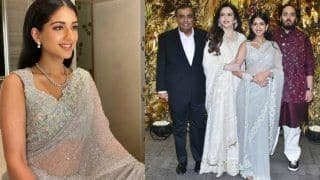 Anant Ambani-Radhika Merchant Look Perfect Together at Armaan Jain-Anissa Malhotra's Wedding Reception