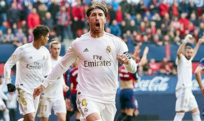La Liga Real Madrid Emphatically Down Osasuna Barcelona Close Gap India Com Sports