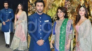 Entertainment News Today: Ranbir Kapoor And Alia Bhatt Look Gorgeous Together at Armaan Jain-Anissa Malhotra's Wedding Reception