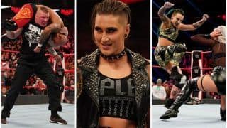 WWE RAW Results, February 3: Brock Lesnar Lays Out Ricochet; Ruby Roitt Returns, Rhea Ripley Confronts Charlotte