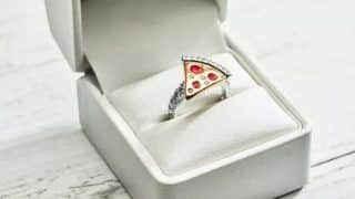 Valentine's Day 2020: Domino's Australia Releases Special $9,000 Pizza Slice Engagement Ring
