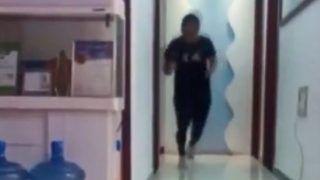 'I Felt a Little Dizzy': Man Runs Marathon in Apartment Amid China Shutdown | Watch