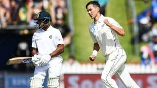 India vs New Zealand, 1st Test Day 3, Tea: Mayank Agarwal Fifty Keep India's in The Fight After NZ take 183-Run Lead