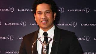 Sachin Tendulkar Wins Laureus Sporting Moment of the Year 2000-2020 For World Cup 2011 Win