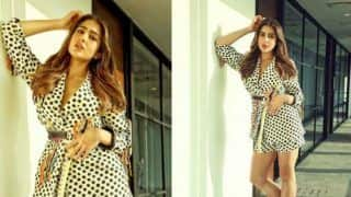 Sara Ali Khan is Bringing Retro Fashion Back With This Latest Look in Polka Dots