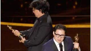 Oscars 2020: Parasite Director Bong Joon Ho Giggling At His Award is The Purest Thing Ever | Watch