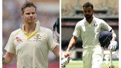 Virat Kohli Slips to No. 2 in ICC Test Player Rankings; Australia's Steve Smith Back on Top