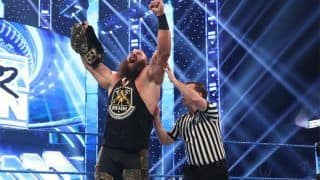 WWE Smackdown Results: Braun Strowman Crowned New Intercontinental Champion, Corbin Gets Covered in Dog Food