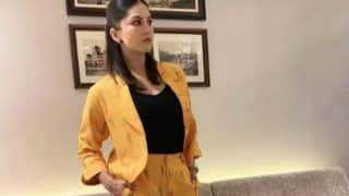 Sunny Leone's Yellow Power Suit is The Perfect Statement Piece For Travelling