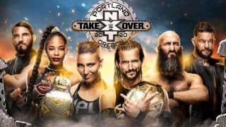 WWE NXT TakeOver: Portland Full Match Card, Preview And Start Time
