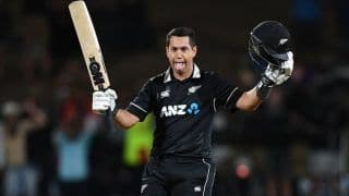 1st ODI: Taylor Ton Ends New Zealand's Horror Run Against India