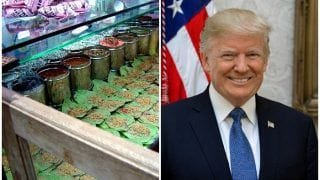Paan Shops Sealed To Keep Walls Clean, Dogs Caged Ahead of Donald Trump's Ahmedabad Visit