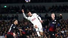 Champions League: Werner Penalty sees RB Leipzig Claim Slender Advantage over Tottenham Hotspurs