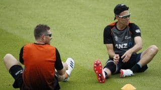 Fit-Again Trent Boult Returns as New Zealand Announce Squad for India Tests