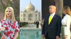 आगरा पहुंचे डोनाल्ड ट्रम्प का हुआ भव्य स्वागत, पत्नी मेलानिया के साथ यूं किया ताज का दीदार