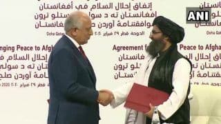 US-Taliban Sign Peace Deal: American Forces to be Withdrawn From Afghanistan Within 14 Months
