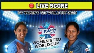 Live Cricket Score India vs Sri Lanka, IN-W vs SL-W, Match 14, ICC Women   s T20 World Cup 2020
