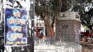 'O Corona, Kal Aana': Inspired By 'Stree', Man Puts Up Posters in Varanasi to Create Awareness