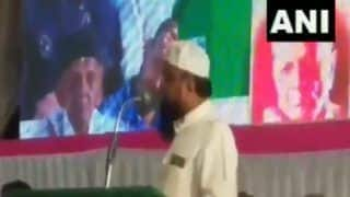 'Not Wearing Bangles', After Waris Pathan, Another AIMIM Leader Stokes Controversy, Threatens to Disrupt Peace