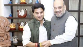 Scindia Meets Amit Shah, A Day After Joining the BJP; To Hold Roadshow in Bhopal Today