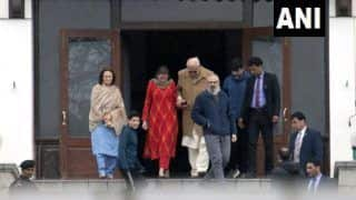 Farooq Abdullah Meets Son Omar, Day After Release From Detention
