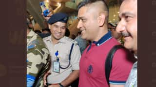 Video ms dhoni arrives in chennai ipl 2020 preparations will start in full swing 3958984