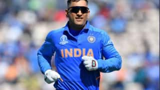 If ms dhoni is fit and in form then team india cant look beyond him wasim jaffer 3974382