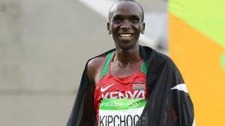 I See Myself Running at Tokyo Olympics: Record-Holding Marathon Runner Eliud Kipchoge
