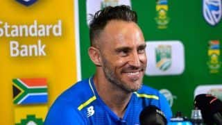 Du Plessis Recalled, Linde Receives Maiden Call-up as South Africa Announce Squad For India ODIs