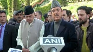 'J&K Should be Declared a State Again, Other Leaders in Detention Must be Released': Ghulam Nabi Azad