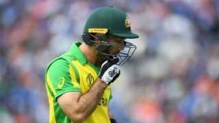 Glenn maxwell wanted my arm to break down during world cup to get break from cricket 3981252