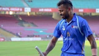 Hardik Pandya Slams 20 Sixes in DY Patil T20 Cup, Slams Second Hundred of Tournament For Reliance 1 | WATCH VIDEO