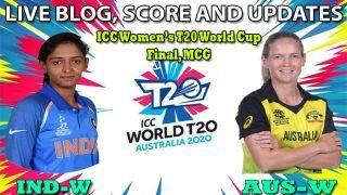 Live Cricket Score, India-W vs Australia-W, Final, ICC Women's T20 World Cup