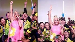 T20 World Cup: Australian Team Celebrate Victory With Katy Perry After Win Over India | WATCH VIDEO