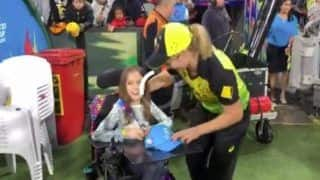 Australia's Sophie Molineux Gifts Her Women's T20 WC Medal to Specially-Abled Fan   WATCH VIDEO