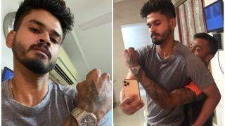 Coronavirus Pandemic: KL Rahul, Yuzendra Chahal Caution Shreyas Iyer, Hardik Pandya Selfie Bromance | WATCH VIDEO