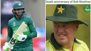 Shoaib Malik's 'Miss You Coach' Message For Lt Bob Woolmer on His 13th Death Anniversary