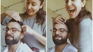 Anushka Sharma Turns Hair Stylist For Virat Kohli During Quarantine, Gives India Skipper New Haircut Amid COVID-19 | WATCH VIDEO