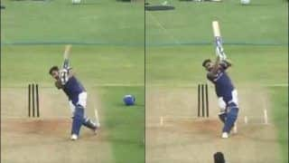 Mumbai Indian's Share Rohit Sharma's Practice Visuals as Fans Await New Schedule After COVID-19 Postpones IPL 2020 | WATCH VIDEO