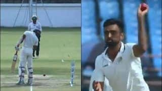 WATCH: Unadkat's Presence of Mind During Ranji Final is Unmissable