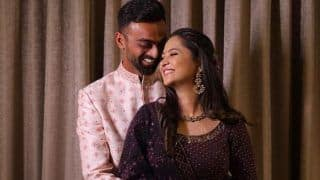 Ranji Trophy Winner Jaydev Unadkat Announces Engagement, Cheteshwar Pujara Congratulates Saurashtra Teammate on Finding 'Love of His Life'
