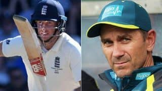 Coronavirus effect justin langer responds to the question of joe roots statement of avoiding shake hand during sri lanka tour 3965225