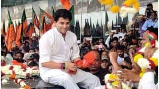 Case Filed After Black Flags Shown to Jyotiraditya Scindia in Bhopal, At Least 30 Persons Booked