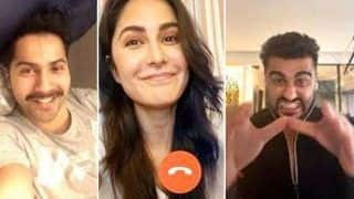 'Club Isolated'! Katrina Kaif Video Calls Varun Dhawan, Arjun Kapoor Amid Coronavirus Quarantine